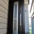 1日施工が可能!採風機能付き玄関ドアに取替リフォーム工事